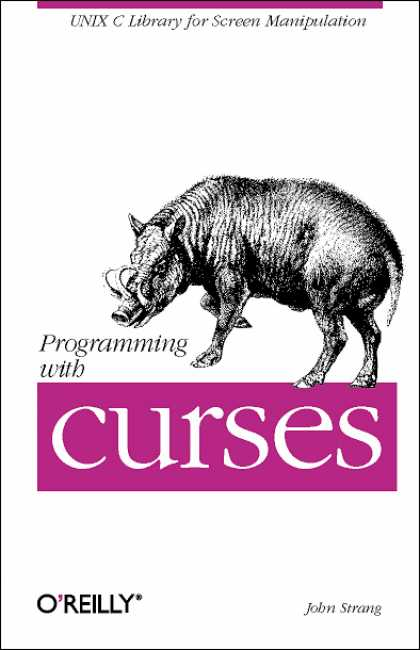 O'Reilly Books - Programming with curses
