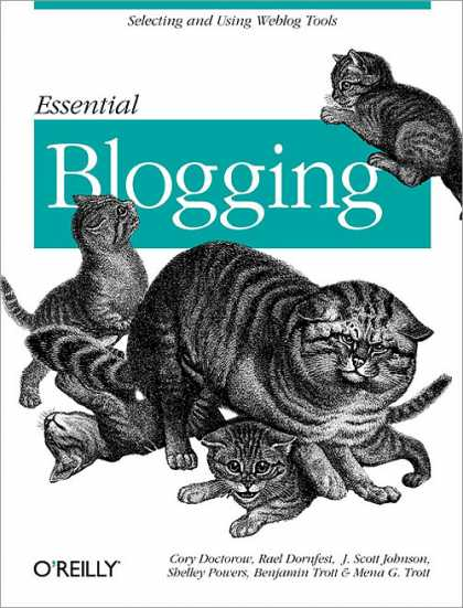 O'Reilly Books - Essential Blogging