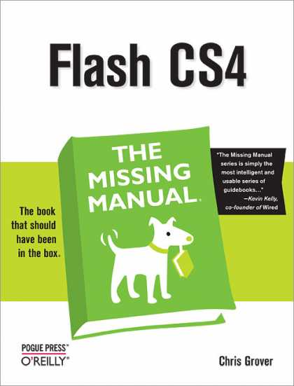 O'Reilly Books - Flash CS4: The Missing Manual