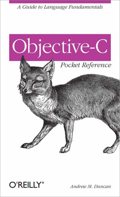 O'Reilly Books - Objective-C Pocket Reference