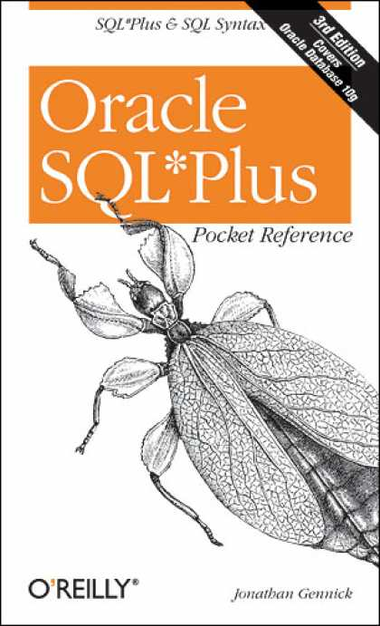 O'Reilly Books - Oracle SQL*Plus Pocket Reference, Third Edition