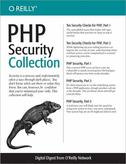 O'Reilly Books - PHP Security Collection