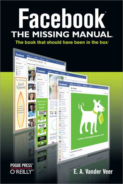 O'Reilly Books - Facebook: The Missing Manual