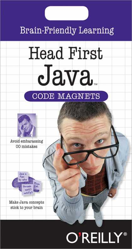 O'Reilly Books - Head First Java Code Magnet Kit, Second Edition