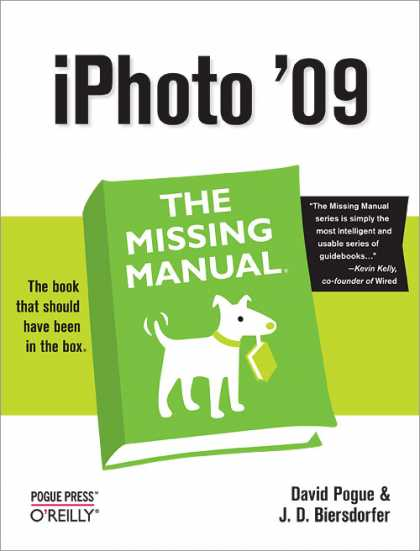 O'Reilly Books - iPhoto '09: The Missing Manual
