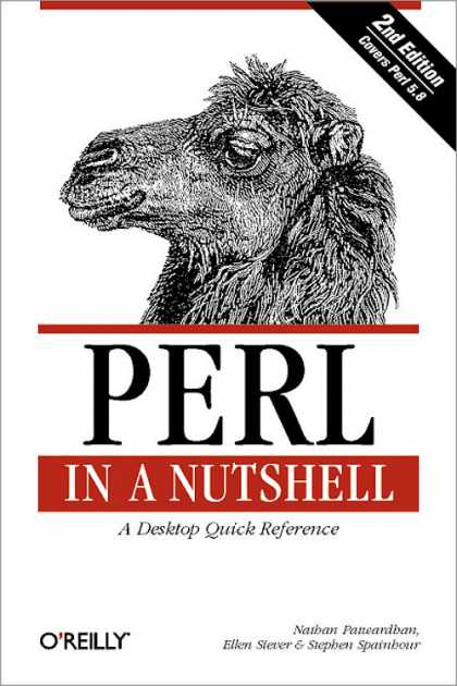 O'Reilly Books - Perl in a Nutshell, Second Edition
