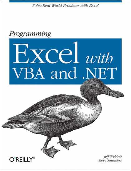 O'Reilly Books - Programming Excel with VBA and .NET
