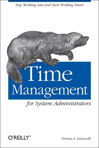 O'Reilly Books - Time Management for System Administrators