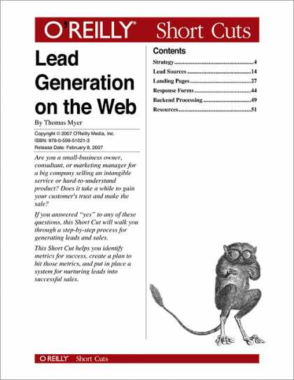 O'Reilly Books - Lead Generation on the Web