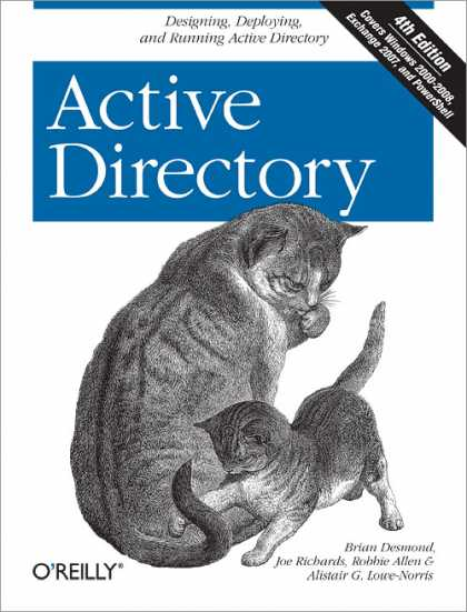 O'Reilly Books - Active Directory, Fourth Edition