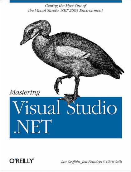 O'Reilly Books - Mastering Visual Studio .NET