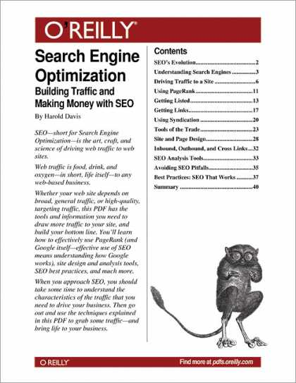 O'Reilly Books - Search Engine Optimization