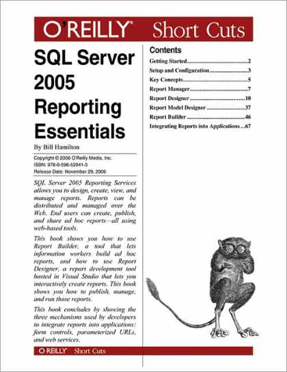 O'Reilly Books - SQL Server 2005 Reporting Essentials
