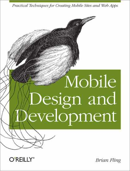 O'Reilly Books - Mobile Design and Development