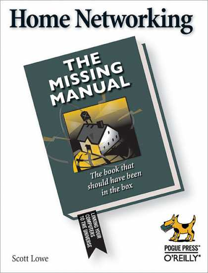 O'Reilly Books - Home Networking: The Missing Manual