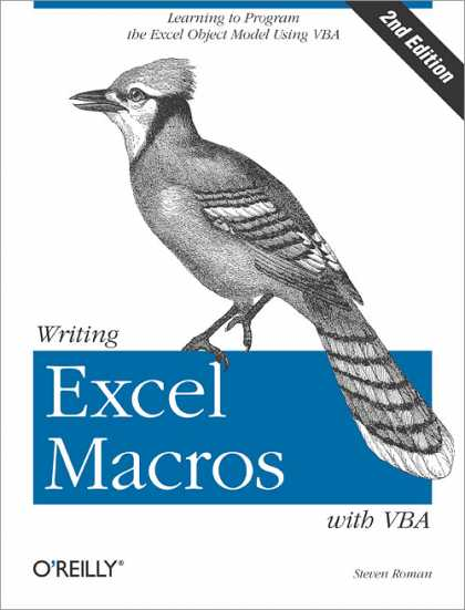 O'Reilly Books - Writing Excel Macros with VBA, Second Edition