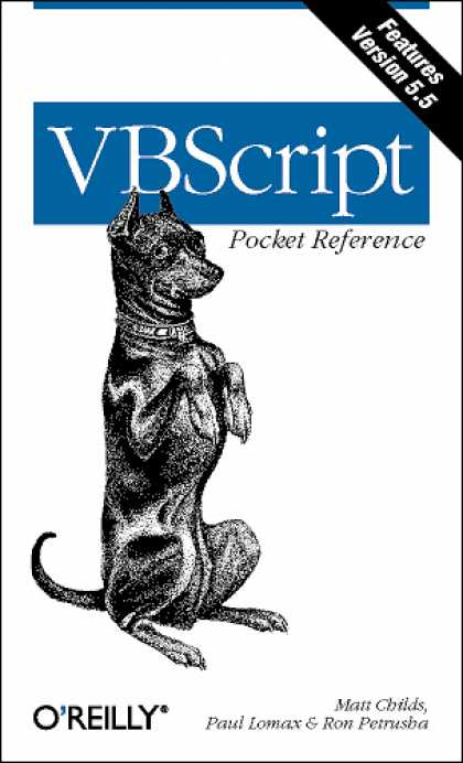 O'Reilly Books - VBScript Pocket Reference