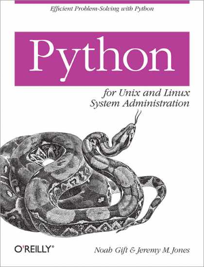 O'Reilly Books - Python for Unix and Linux System Administration