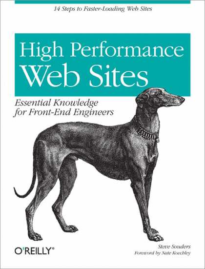 O'Reilly Books - High Performance Web Sites