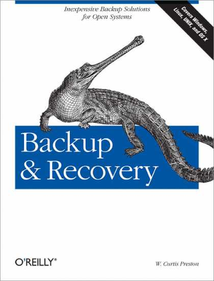 O'Reilly Books - Backup & Recovery
