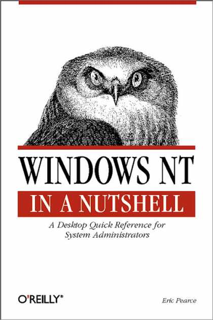 O'Reilly Books - Windows NT in a Nutshell