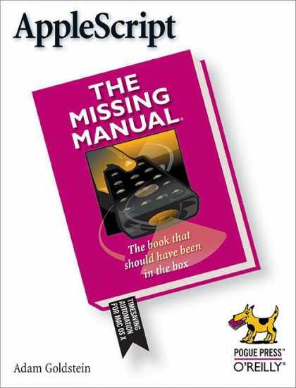 O'Reilly Books - AppleScript: The Missing Manual