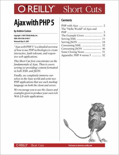 O'Reilly Books - Ajax with PHP 5