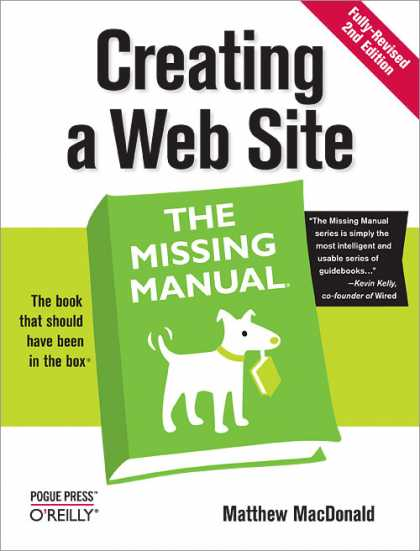 O'Reilly Books - Creating a Web Site: The Missing Manual, Second Edition