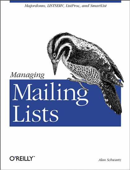 O'Reilly Books - Managing Mailing Lists