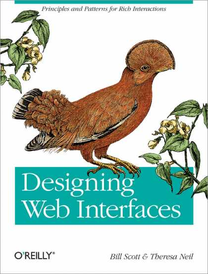O'Reilly Books - Designing Web Interfaces