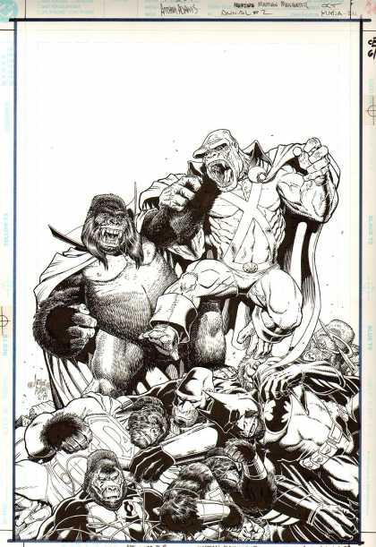 Original Cover Art - Martian Manhunter Annual #2 Cover (1999)