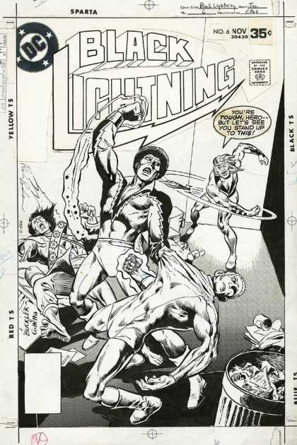 Original Cover Art - Black Lightning