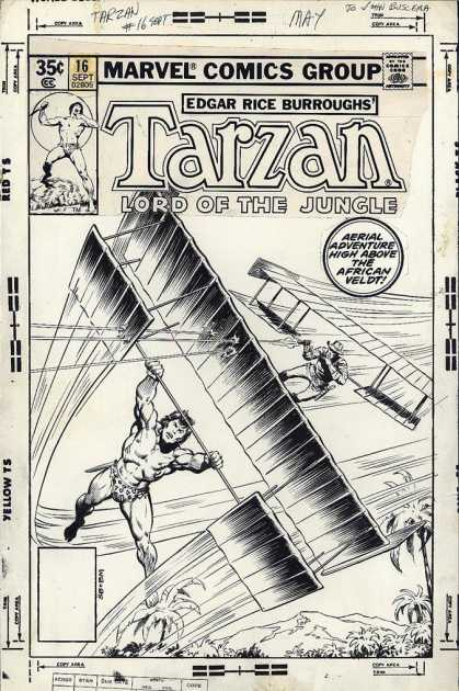 Original Cover Art - Tarzan