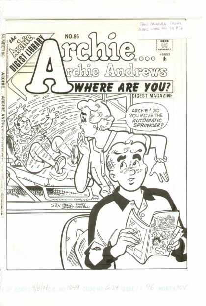 Original Cover Art - Archie Where are You?