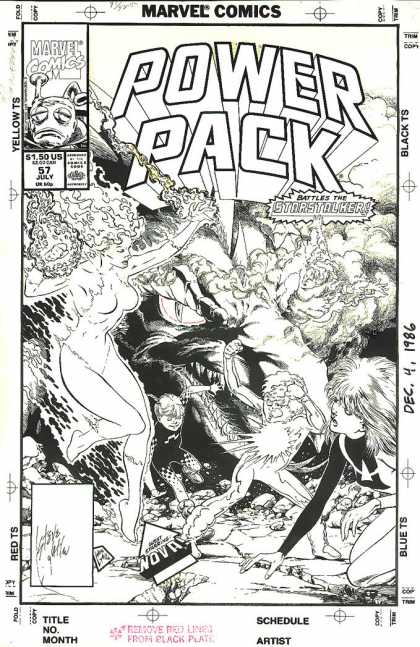 Original Cover Art - Power Pack