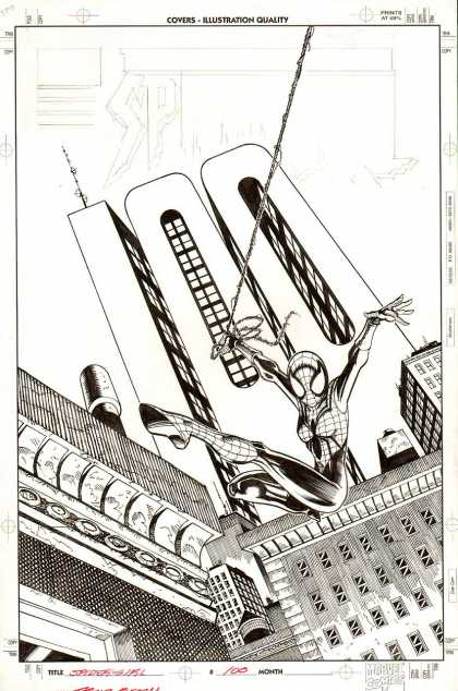 Original Cover Art - Spider-Girl #100 Cover
