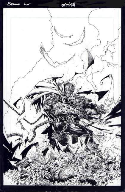 Original Cover Art - Spawn #148 Cover