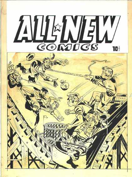 Original Cover Art - All-New Comics #15 Cover (1946)
