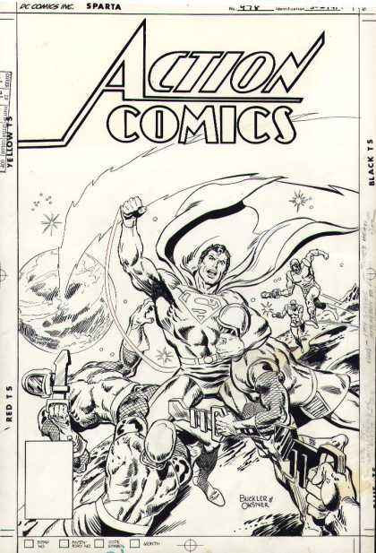 Original Cover Art - Action Comics #478 Cover