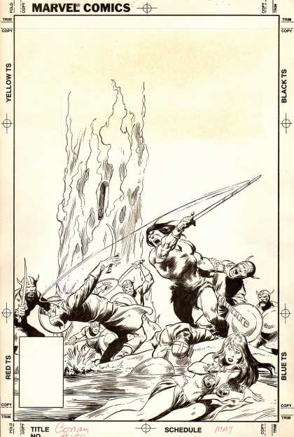 Original Cover Art - Conan #150 Cover (1983)