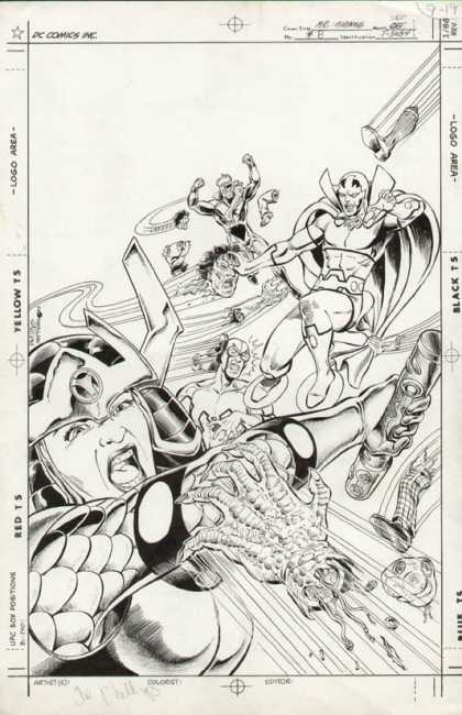 Original Cover Art - Mister Miracle
