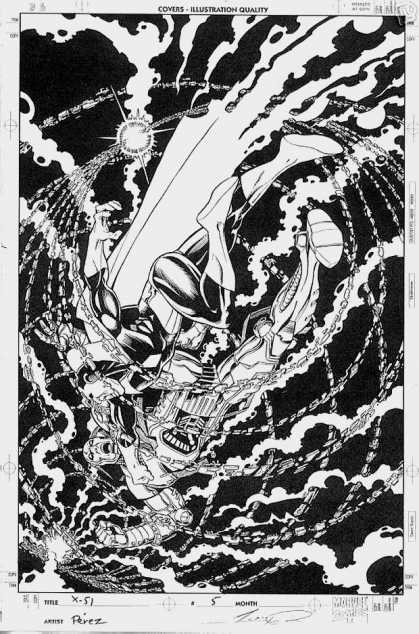 Original Cover Art - X-51 #5 Cover