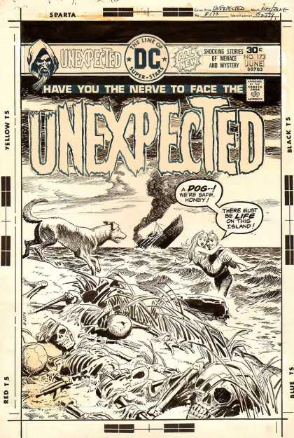 Original Cover Art - The Unexpected #173 Cover (1976)