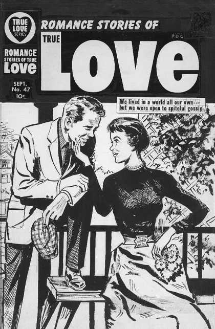 Original Cover Art - True Love - True Love - Romance - No 47 - World All Our Own - Couple