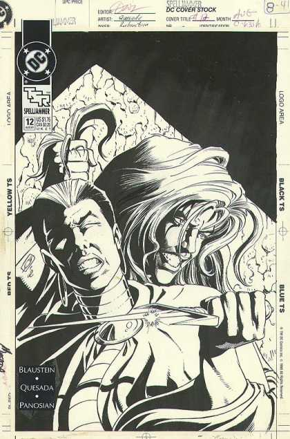 Original Cover Art - Spelljammer #12 Cover