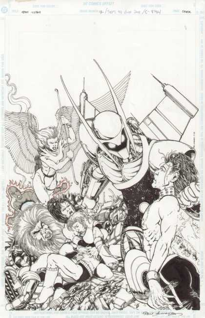 Original Cover Art - Teen Titans