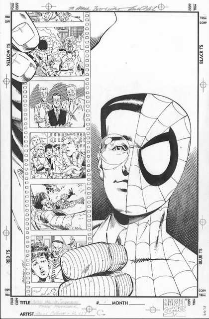 Original Cover Art - Untold Tales Of Spiderman Trade Paperback Cover
