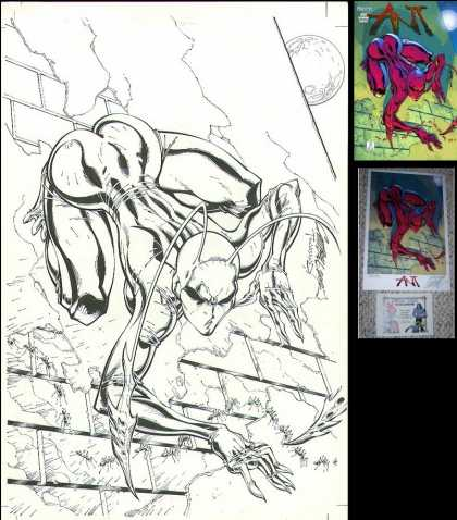 Original Cover Art - Ant (poster and comic cover art)