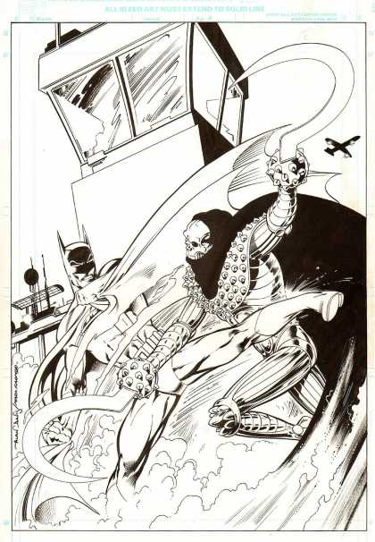 Original Cover Art - Batman: British cover