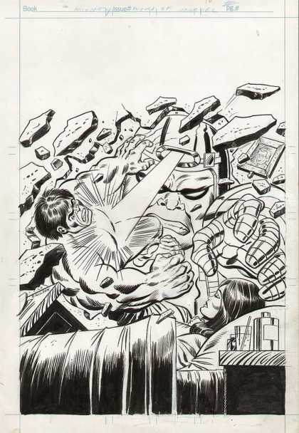 Original Cover Art - Mighty World of Marvel Cover